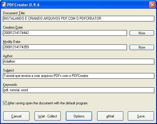 pdfcreator INSTALAR21