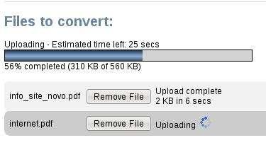 pdf zamzar progresso