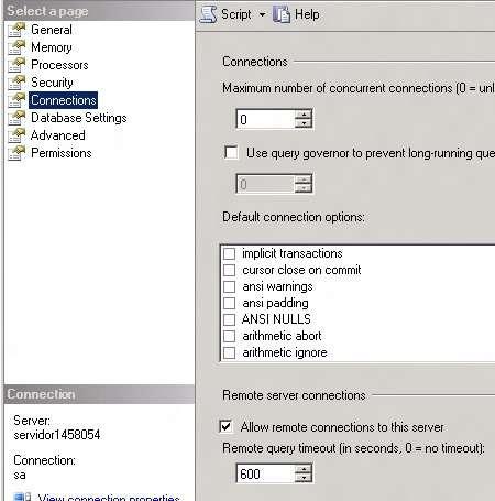 Permitindo conexão remota ao servidor SQL Server 2008