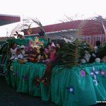 Desfile cívico em Juvenília